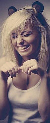 На аву девушка блондинка на аву