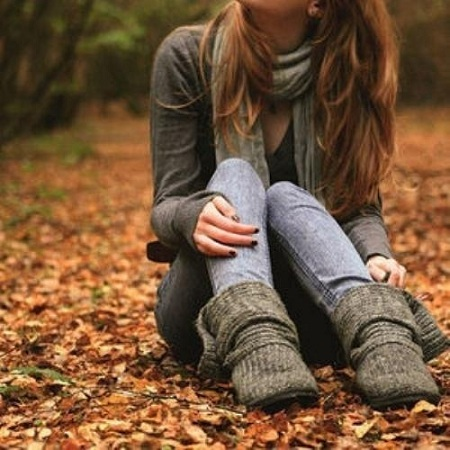 Главная фотоальбом осень девушка